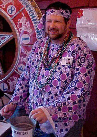 Craig at Arts Project of Cherry Grove 2003 60's Casino Night